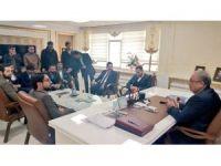 Genç Ak Partililer'den Belediye Başkanı Hüsrev Kutlu'ya ziyaret