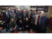 Feridun Andaç TYB Erzurum Şubesinin konuğu oldu