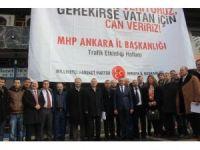 MHP Ankara İl Başkanlığından kan bağışı