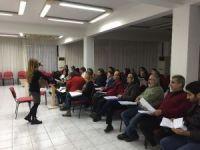 Muratpaşa kursiyerlerinin ilk konser heyecanı