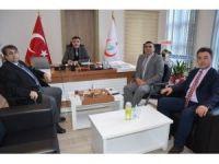 Eskişehir Harp Malulü Gaziler, Şehit, Dul Ve Yetimleri Derneği'nden Kamu Hastaneleri Birliği'ne ziyaret