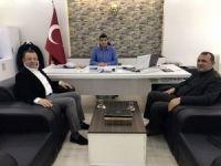 Ak Parti Üsküdar İlçe Başkanı Hızır, Çetiner'i ziyaret etti