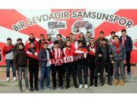 Taraftarlardan Samsunspor'a 'kara gün' bestesi