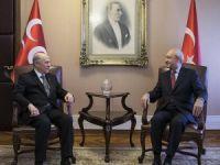 Kılıçdaroğlu-Bahçeli görüşmesi başladı