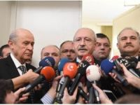 Kılıçdaroğlu-Bahçeli görüşmesi sona erdi