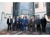 Vali Çelik, Teksan Sanayi Sitesi'ni ziyaret etti