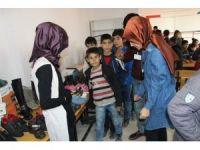 'Köy Okullarına Destek Ekibi'nden, Göçeri İlkokulu'na yardım