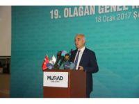 MÜSİAD Şanlıurfa şubesinin 19'uncu kongresi yapıldı