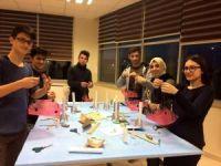 OMÜ'lü öğrenciler Elif'in anısına roket fırlattı