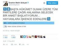 """Başkan Gökçek'in anketinden """"hapis cezası"""" çıktı"""