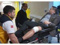 Daha önce 450 bin TL'si ve lüks aracı çalınan iş adamına silahlı saldırı