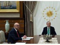 Cumhurbaşkanı Erdoğan, Ermeni Vakıflar Birliği Başkanı Şirinoğlu'nu kabul etti