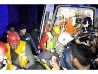 Antalya'da çöken inşaatta kurtarma çalışmaları tamamlandı