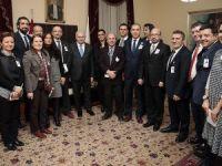 Başbakan Yıldırım, medya temsilcileriyle görüştü