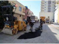 Erdemli'de aşırı yağıştan etkilenen yollar düzeltiliyor