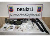 Denizli'de jandarmadan şafak operasyonu: 10 gözaltı