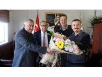 Aydın Ticaret Borsası ve AYSO'dan TARİŞ Pamuk yönetimine ziyaret