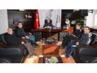 Güreş Eğitim Merkezi yönetiminden Başkan Acar'a ziyaret