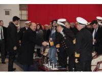 Milli Savunma Bakanı Fikri Işık, İstanbul Fırkateyn'i sac kesme törenine katıldı