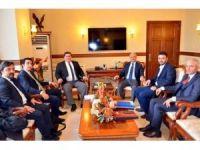 Erzincan OSB'de yapılması planlanan tıbbi cihaz-ilaç üretim ve ar-ge tesisi görüşüldü