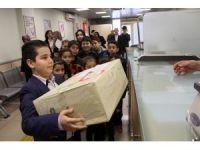 Sakaryalı çocuklardan El-Bab'da bulunan askerlere mektup
