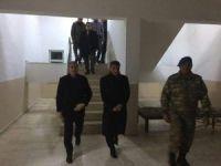 Kaymakam Özkan ve Başkan Aksoy'dan JÖH'e taziye ziyareti