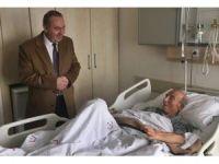 Başkan Şahiner'den hasta ziyareti