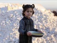 Halepli ailelere sıcak yemek desteği