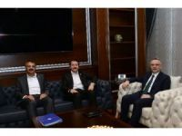 Talep ve beklentiler Maliye Bakanı Ağbal'a iletildi