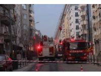Müftülüğün personel binasında korkutan yangın