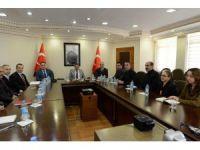 Tunceli Valisi, belediye başkanvekili olarak göreve başladı