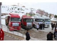 Sivas'tan Halep'e 6 tır yardım