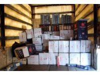 Gaziantep'te 184 bin 500 paket kaçak sigara ele geçirildi