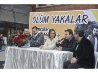 Ünlü oyuncular Forum Mersin'de ziyaretçilerle buluştu