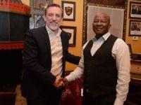 Güney Afrikalı gençler BUTGEM'de meslek öğrenecek