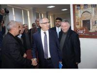 Bakanlık bürokratları Siirt'e geldi