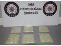 Otomobilin tamponuna zulalanmış 5 bin 300 adet uyuşturucu hap ele geçirildi