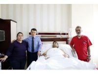 Vücudundaki tümörden 17 saatlik operasyonla kurtuldu