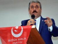 BBP Genel Başkanı Destici: Metin son halini aldığında karar vereceğiz