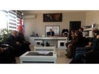 Edremit Kaymakamı ve Belediye Başkan Vekili Çiçekli basınla bir araya geldi