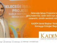 KADEM'den 'Geleceğe İşbaşı' projesi