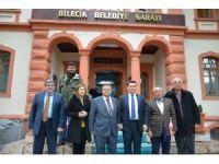 Başkan Yağcı'ya Kepez Belediye Başkanı Tütüncü'den ziyaret
