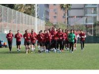 Aytemiz Alanyaspor Beşiktaş maçı hazırlıklarını sürdürdü