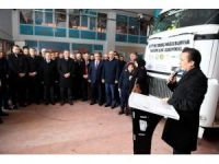 Tuzla Belediyesinden Halep'e 6 TIR yardım malzemesi gönderdi