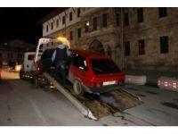 Sivas'ta polisten 'şok' uygulama