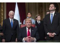 Trump, ilk emirlerini imzaladı