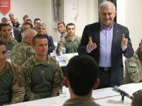 Başbakan Yıldırım'la aynı sofrayı paylaşan asker şehit oldu