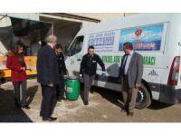 Korkuteli Belediyesi Atık Yağları topluyor