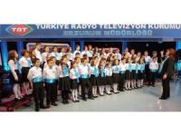 TRT Erzurum Müdürlüğü THM çocuk korosunu takviye ediyor
