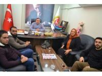 Türkmen Komutandan OGC'ye ziyaret